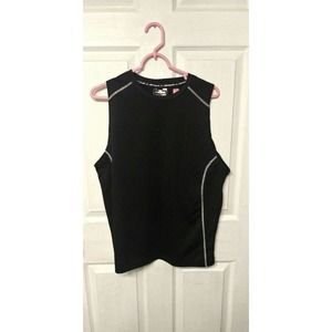 Under Armour Muscle Shirt - Men Medium - Black